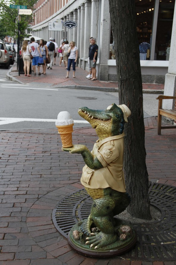 Ice Cream gator Portland Maine