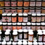 Jams for sale at Reading Market