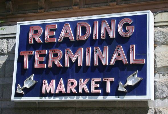 Reading Market sign