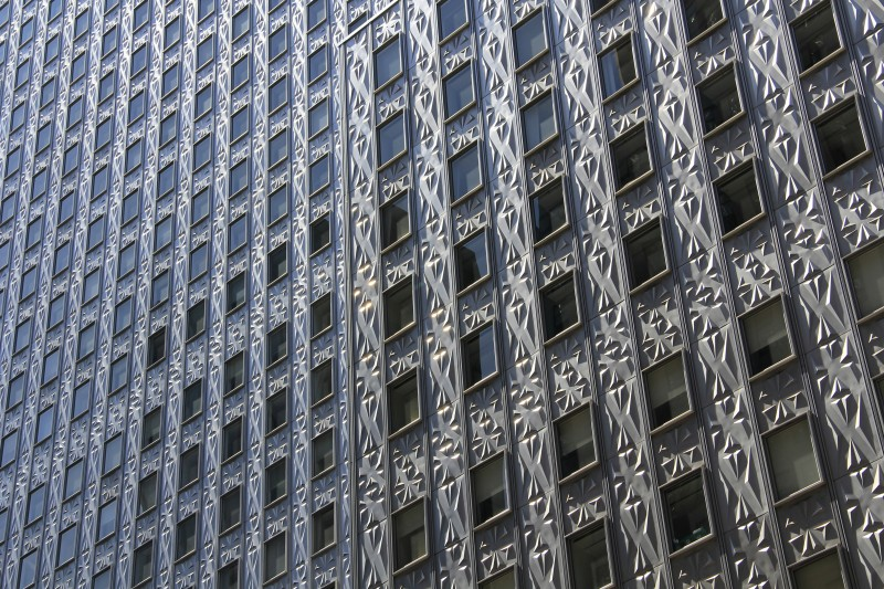 Windows of the Chrysler building
